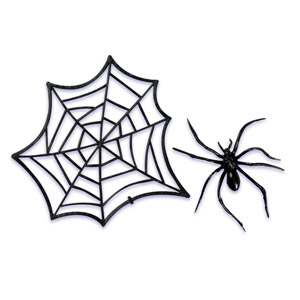 Spider Web Toppers